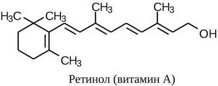 Витамин А формула