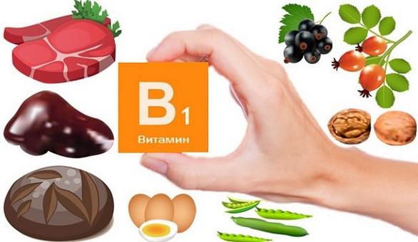 Витамин В1 в каких продуктах содержится