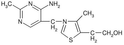 Витамин В1 формула