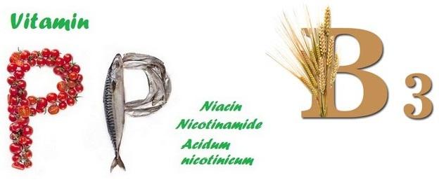 Витамин В3, РР, ниацин, никотиновая кислота