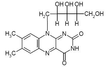 Витамин В2 рибофлавин формула