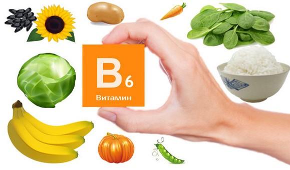 Витамин В6 (пиридоксин) в каких продуктах содержится