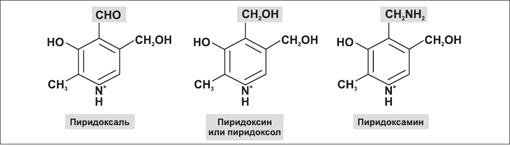 Витамин В6 (пиридоксин) формула