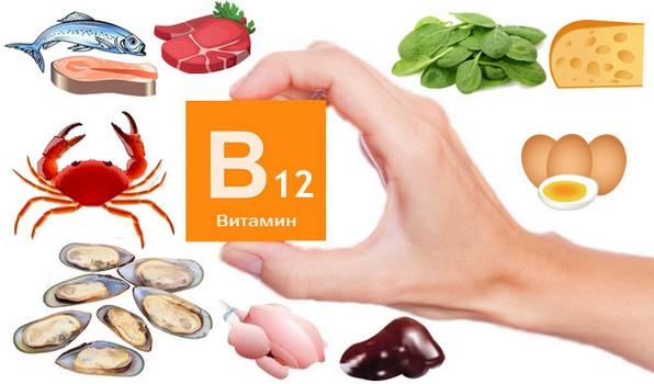 Витамин В12 цианокобаламин в каких продуктах содержится