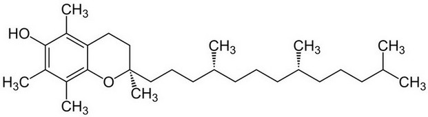 Витамин Е токоферол формула