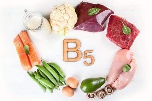 витамин В5 (пантотеновая кислота) где содержится